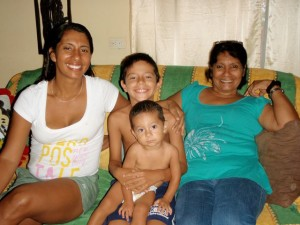 Host Family in Puerto Jimenez