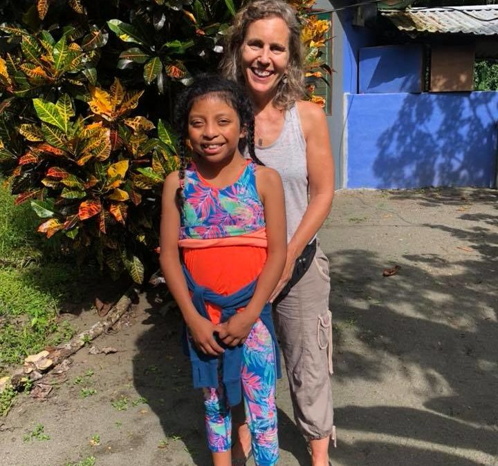 Andrea and her daughter Quila – Review Turtle Project (Osa Peninsula)